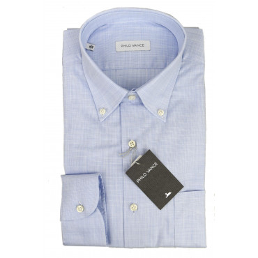 Shirt Heavenly Man Canvas Button-Down - Philo Vance - La Spezia
