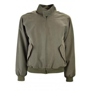 BOMBER Men's Casual Jacket 48 M Kakhi Military Handle - Men's Suits, Jackets and Vests