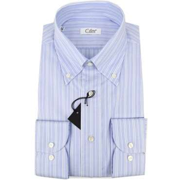 CASSERA Shirt 16½ 42 Lines Heavenly White Oxford Button-Down
