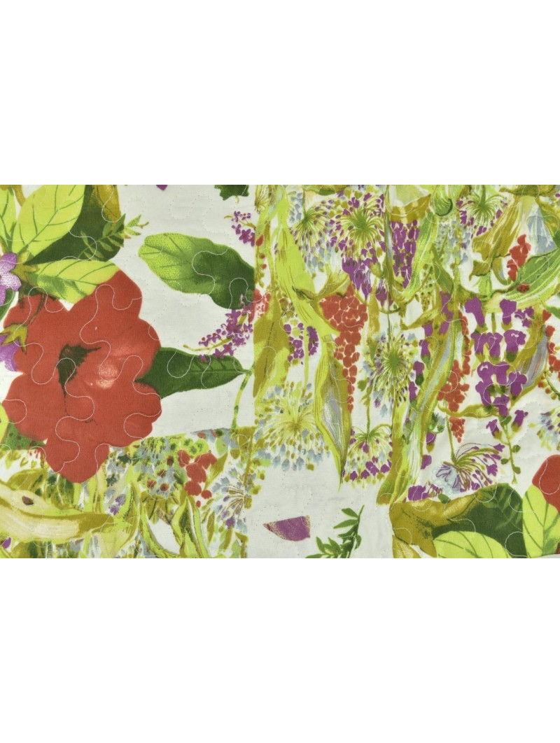 Quilt Quilted Bedspread Bed Flower Garden 260x260 - Boutis padding to enhance the Summer