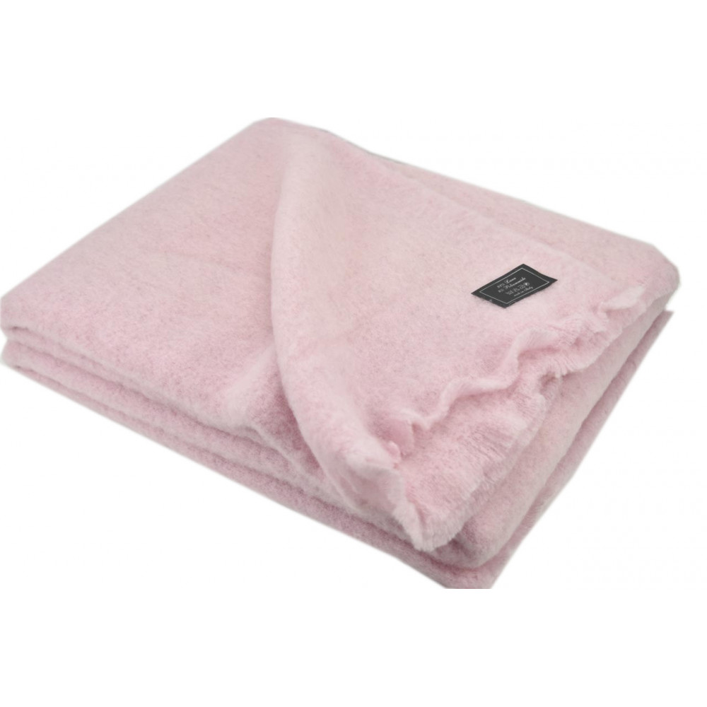 Light Cover Double, Milk-White Mohair And Pure Wool