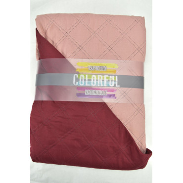 Quilt Quilted Bedspread Double Pink Old - Mylove