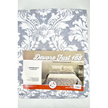 Bedspread, Light Curtain, burn-out design Arabesque
