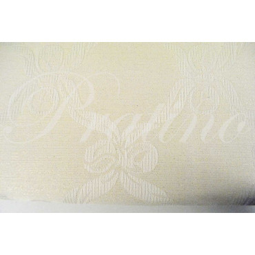 Bedspread Copritutto Single 180x280 Canvas Mistolino Plug Ivory