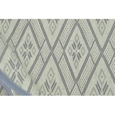 Bedspread Copritutto Double 280x290 Canvas Medieval Diamond Grey - Bedroom