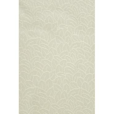 Doble colcha de Seda color Marfil Hojas 260x280