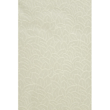 Double bedspread Ivory Silk Leaves 260x280