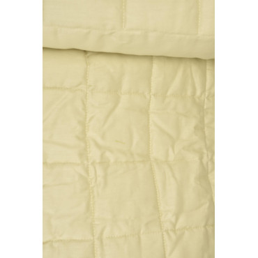 Double Quilted bedcover Cotton Satin Yellow Tintaunita 260x270