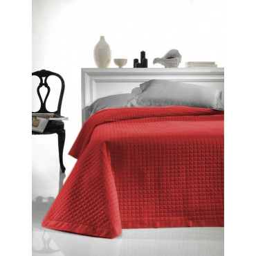 Quilted bedspread Cotton sateen Elegant padding to enhance the Summer