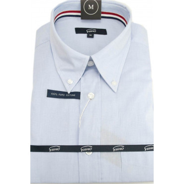 Homme Shirt FilaFil Céleste ButtonDown - M 40-41