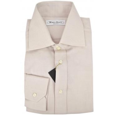 Camicia Sartoriale Uomo Rosa Chiarissimo collo doppio bottone Francese
