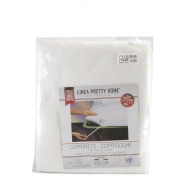 Coprirete Copridoghe Matrimoniale 170x190 in feltro con elastici e ganci - igiene e protezione per materasso