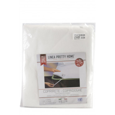 Cover Copridoghe size Bed 170x190 felt with elastic bands and hooks - cleaning and protection for the mattress