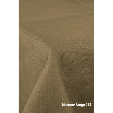 Tovaglia Panama Cotone Tintaunita Rettangolare Quadrata Rotonda