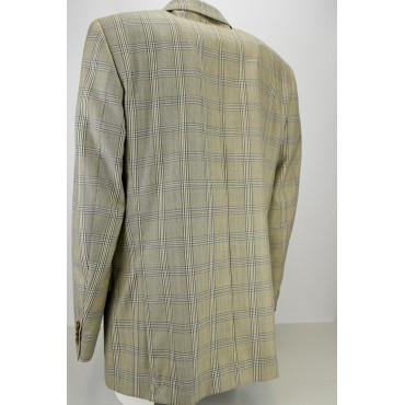 Men's Beige Scottish Frescolana Jacket 3 Buttons - Classic Fit