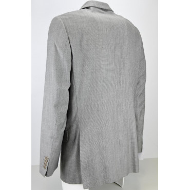Men's Jacket 58 Dark Brown Cotton Fustian 2 Buttons - Classic Fit
