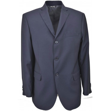 Drop4 Men's Jacket Dark Blue Frescolana 3 Buttons
