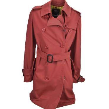 Waterproof Women Red S 42 double-Breasted model Bogart - Impervela
