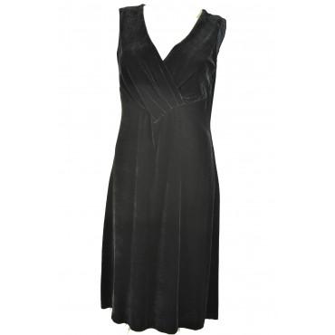Dress Woman Dress Black velvet