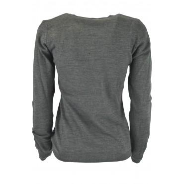 Lightweight Sweater ScolloV Women's Brown Cold - Slimfitt