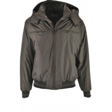 Men's Classic Waterproof Bomber Padded Jacket