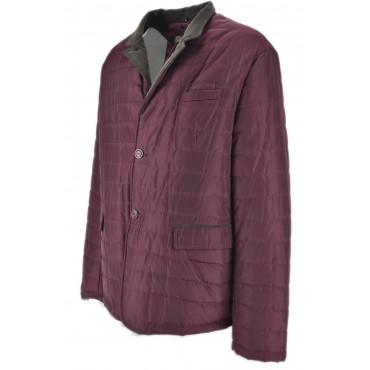 Husky Classic Waterproof Burgundy Padded Jacket