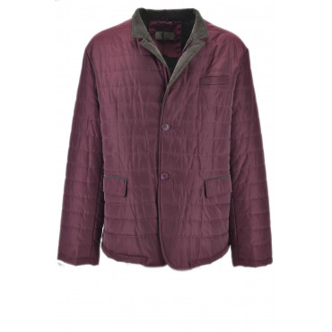 Husky Classic Waterproof Burgundy Padded Jacket