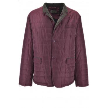Padded Jacket Husky Man Classic Waterproof Bordeaux