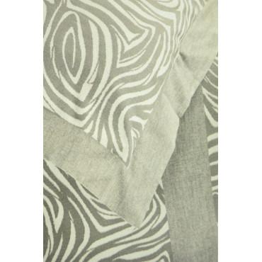 Sheets Flannel Warm Cotton Zebra - Jolie