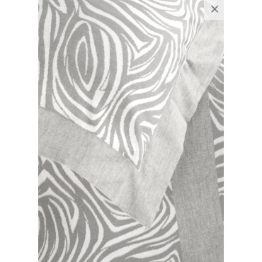 Sheets Flannel Warm Cotton Zebra - Jolie