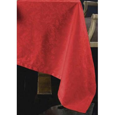 Mantel, Elegantes Servilletas, ropa de mesa de tela, de Algodón Jacquard de acabado hemstitch