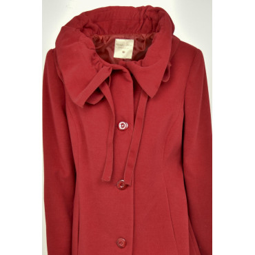 The Long coat Woman 50 XXL Red-Neck Ruffles Georgia & Johns