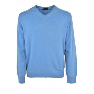 Mens Sweater ScolloV Classique Cachemire À Mailles Fines 2 Fils