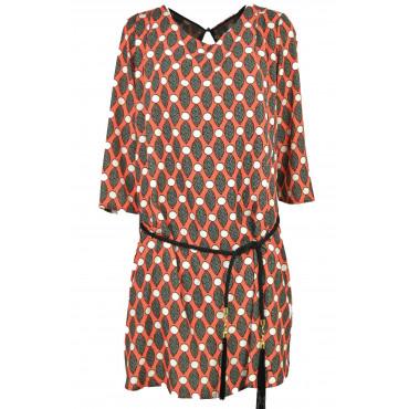 Knee-length woman dress...