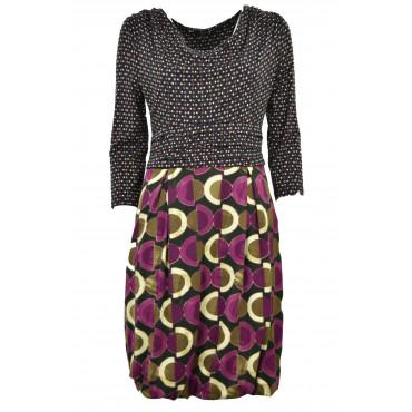 Dress Woman Knit Black...