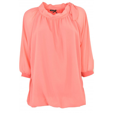 Large Blouse Women's Coral...