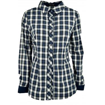 Camicia Donna Classica Pois...