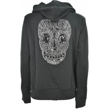 Hooded sweatshirt Black...