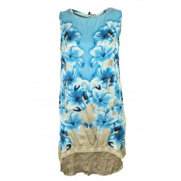 Blouse Mini Dress Woman...