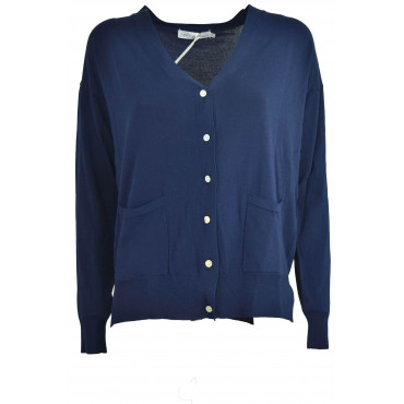 Cardigan Sweater Woman V...