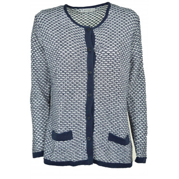Jacket Knit Woman Cardigan...
