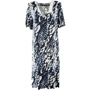 Plus Size Women's Dress in...