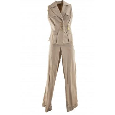 Suit Vest Pants Woman Light...