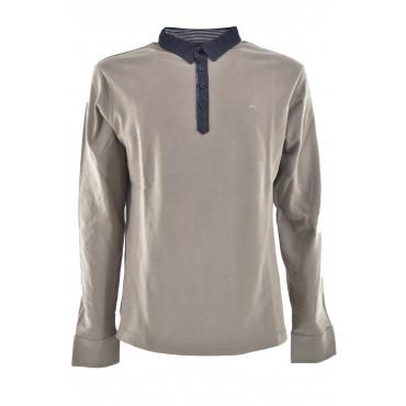 Polo Long Sleeve Men Jersey Cotton Consistent - The Beach Club Milano