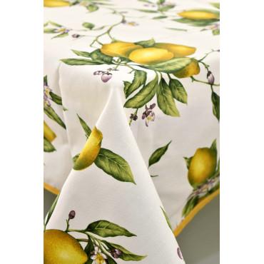Tablecloth in Panama Lemons of Positano
