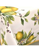 Tischdecke Panama Zitronen aus Positano