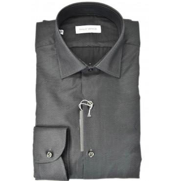 T-shirt Mann Armaturato Dunkel-Elegant ohne Brusttasche - Philo Vance - Bagnolo