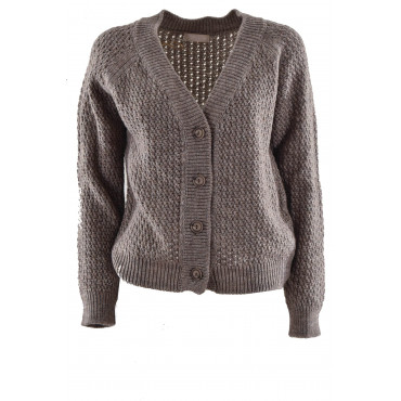 Knitted Cardigan Women's M...