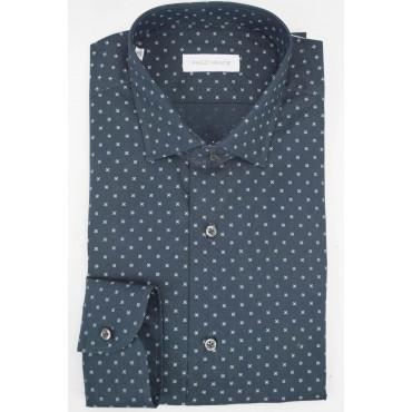 Man shirt 41 M French Dark...