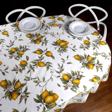 Panama Tablecloth Print in...